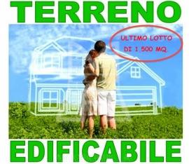RIF RT 01 € 145.000 ULTIMO LOTTO DI TERRENO EDIFICABILE RESIDENZIALE